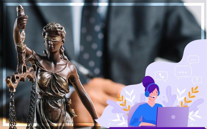 Онлайн-чат для юридических услуг