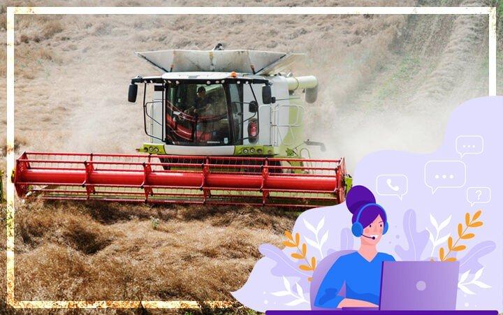 Онлайн-чат в сфере Продажи сельскохозяйственной техники